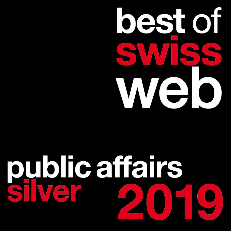 Prix du Best of Swiss Web 2019