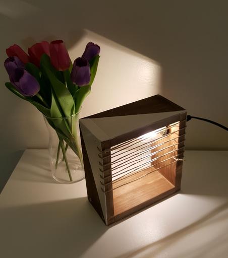 Atelier bois - Lampe finlandaise 2021