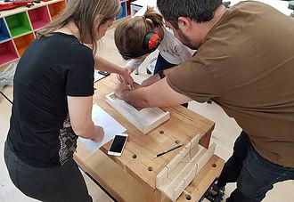 Atelier bois - amplificateur