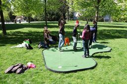 Initiation au golf urbain