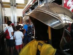 Visite de la caserne des sapeurs-pompiers professionnels 2021